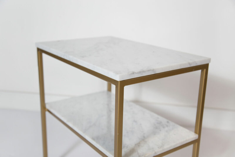 florence side table marble